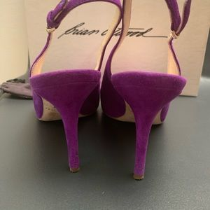 Brian Atwood Shoes - Brian Atwood pumps in purple/fuchsia color